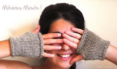 comment tricoter des mitaines au crochet